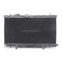 Fits 2001-07 SUBARU IMPREZA WRX/STI BLACK Full Aluminium Radiator