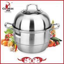 30cm Double Layer Stainless Steel Steamer
