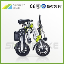 2015 New style cheap 12 inch mini fast folding motorcycle for adults