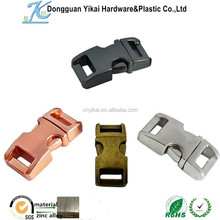 Yikai wholesale high quality metal bag buckles, bag strap accessories, factory direct sale