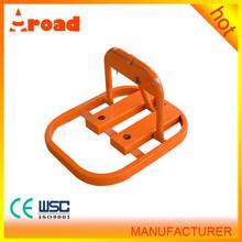 High Quality O Type Steel Manuel Car Parking Lock/ Car Parking Barrier