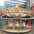 moderna de diversões carrossel musical para venda