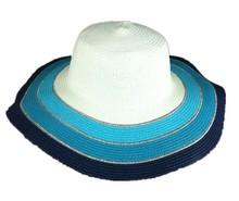 Elegante Sombrero de Sol de Paja para Damas