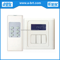Home appliance remote control delay off light switch
