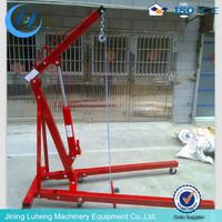 2TON Foldable engine crane/small shop crane for sale