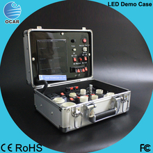 Portable Multi-function Aluminum LED lighting display Demo Case