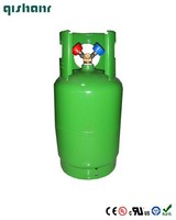 Hot sale 14.3L refrigerant gas cylinders for recycle refill gas,14.3L gas tank