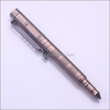 Promotional Item Metal Customized Logo Military Tactical Pen For Writing Tool