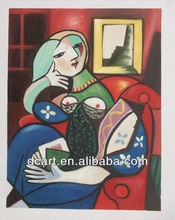Oil Hand Abstract Paintings Picasso