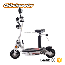 EEC electric scooter with 500W motor and 20km/h speed