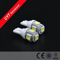 12V T10 5SMD 5050 LED Car White Lights Clearance Lights