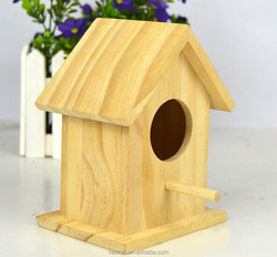 Factory Direct wood crafts creative wooden ornaments pine primary nest