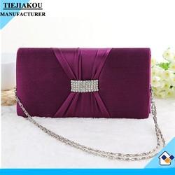 nice fashion women wine red clutch bag evening bag shoulder bag