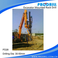 Hot selling high quality Excavator Drill Rigs for Stone Quarry