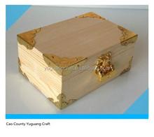 Yuguang New design Gift Box, Gift Storage Box,Wooden Box With Lock Key
