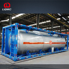 ISO standard 20 feet and 40 feet carbon steel stainless steel tank container/ container frame tank