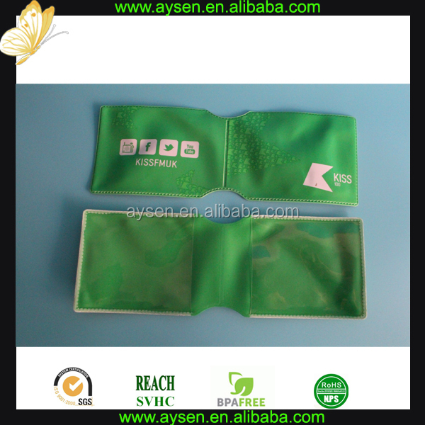 hard plastic credit card holder