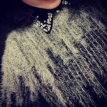 Women Soft Muti-color Pullover