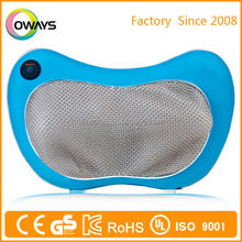massage pillow with infrared function electric massage pillow