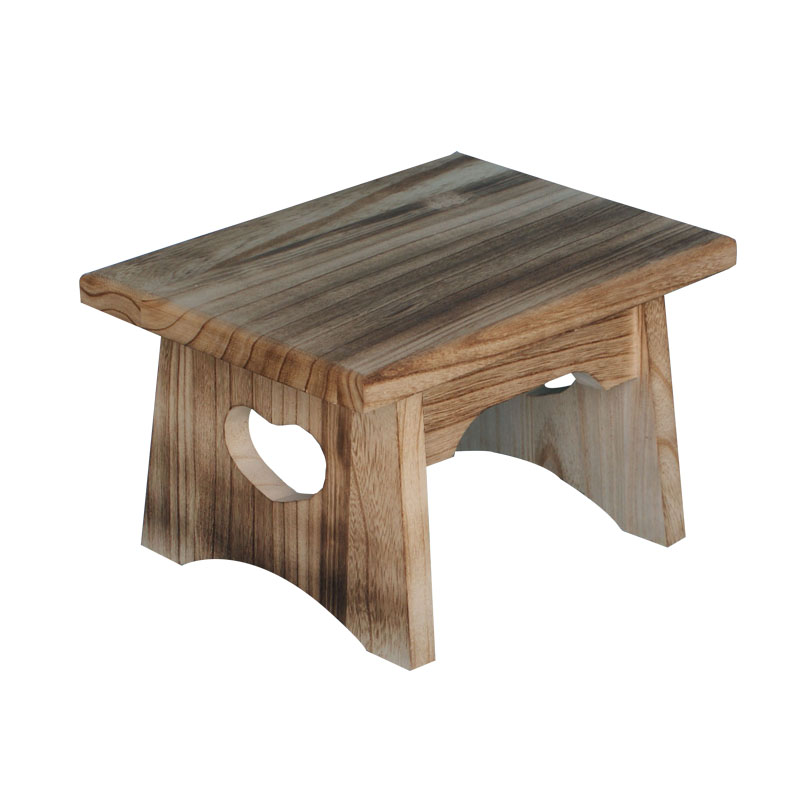 2017 Eco Friendly Natural Small Wooden Chair