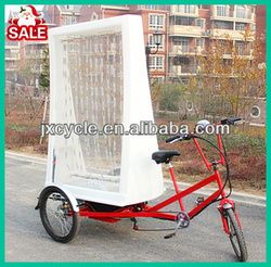 three wheel advertising tricycle LED