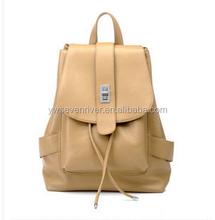college students backpack fashion school bag korea PU bag for travel