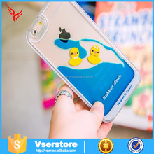 New arrival case 3D yellow rubber yellow duck cell phone case for samsung galaxy NOTE3