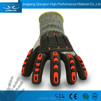 QL new style shock proof protective gloves cut resistant
