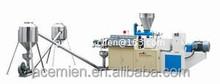 SJZ92 Conical double screw extruder PVC pellet/granule making machine/production line
