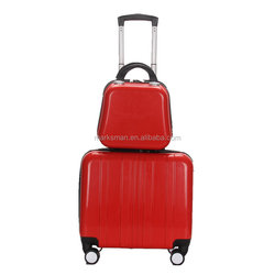 2015 new design woman trolley luggage