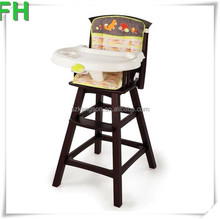 Childens Classic Comfort Wooden High Chair for sale