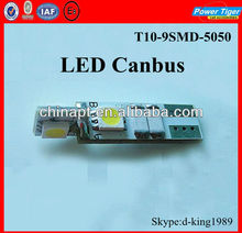 T10 4SMD 5050 Cree Canbus LED Bulbs For Car