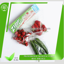 Food & Fruit Bag/ TOP SALE BAG /virgin LDPE zip lock bag