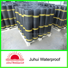 cold applied Self-adhesive waterproofing bitumen membrane with pe film cover