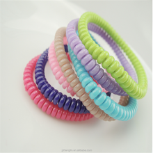 koren candy elastic wire hair phone cord band