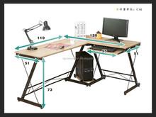 metal leg computer desk
