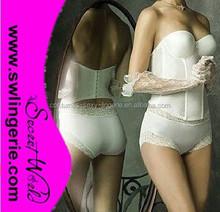 China Cheap Waist Cincher Corset Sexy Lingerie Plus Size Women White Waist Training Corset Lingerie