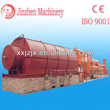 Payment after running tire pyrolysis plant/Best oil recovery tire oil machine/plastic recycling equipment