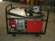 Bomba hidráulica con Honda motor