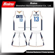 Sublimation basketball sportswear basketball wear
