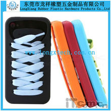 fashionable shoes shape 3d silicone phone case,cute silicone phone case