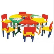 fashion kindergarten plastic tables and chairs Learning table Changeable type table children's desk MQM11259E