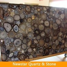 Cut-To-Size Semi Precious Brown Stones