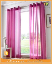 2015 new style for organza curtains designs with many color in stock