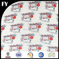 Custom new design high quality digital printing combed cotton jersey fabric