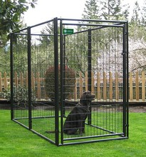 china wholesale Large outdoor chain link dog cages, welded wire dog kennel , pet enclosure
