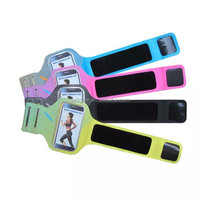 0.8mm/29g TPU+lycra Adjustable ultra-slim sports mobile phone running personalized armband