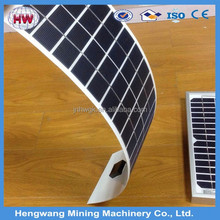 144W/ 35.2V 5392*378*1.5mm triple juction laminated amorphous silicon adhesive thin film flexible solar panels