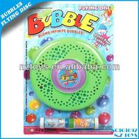 Bubble set--Hot summer toys funny frisbee hubble-bubble water/Eco-friendly soap water/bubble flying disc