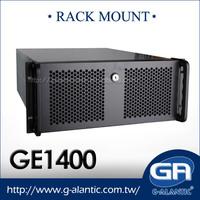 GE1400 mini itx 4U Rackmount horizontal Server Case
